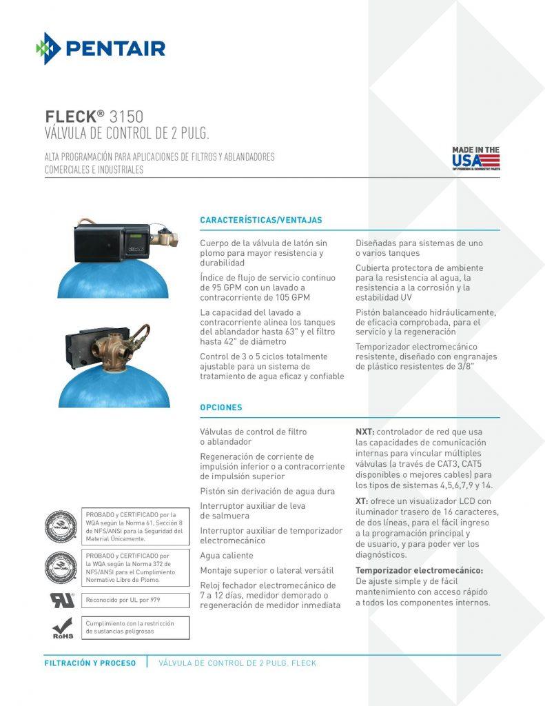 Valvula Fleck 3150