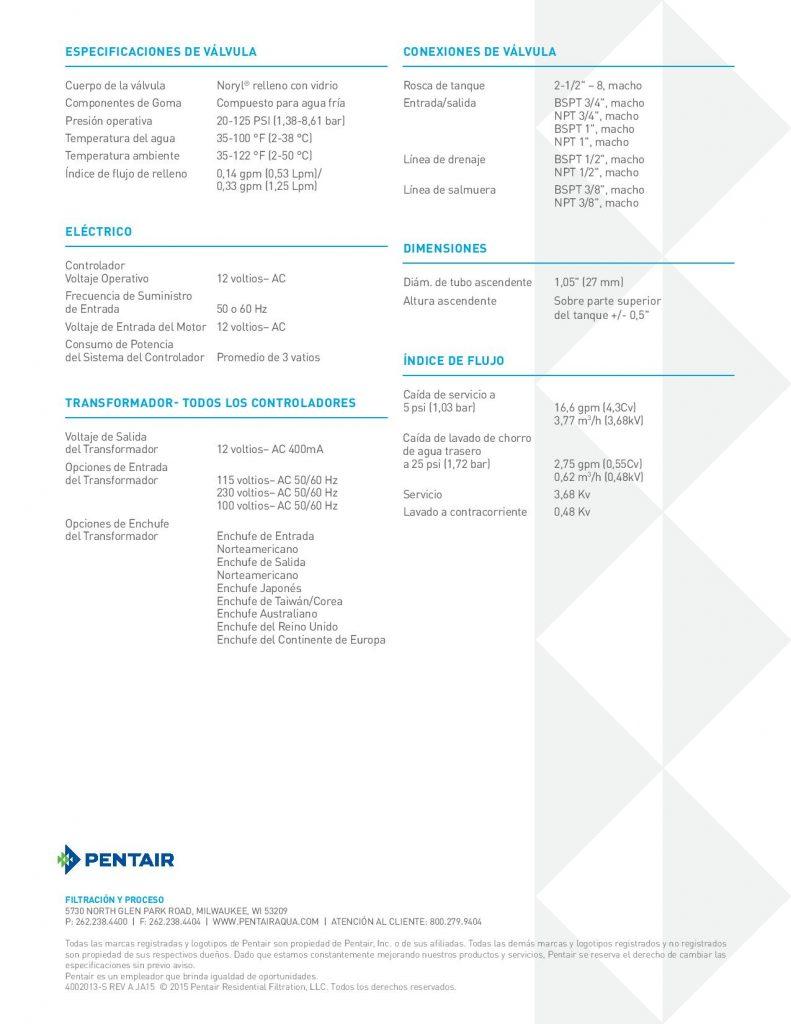 Valvula Autotrol 368-1