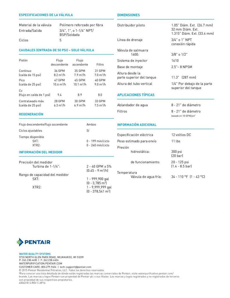 Valvula Fleck 5810-1