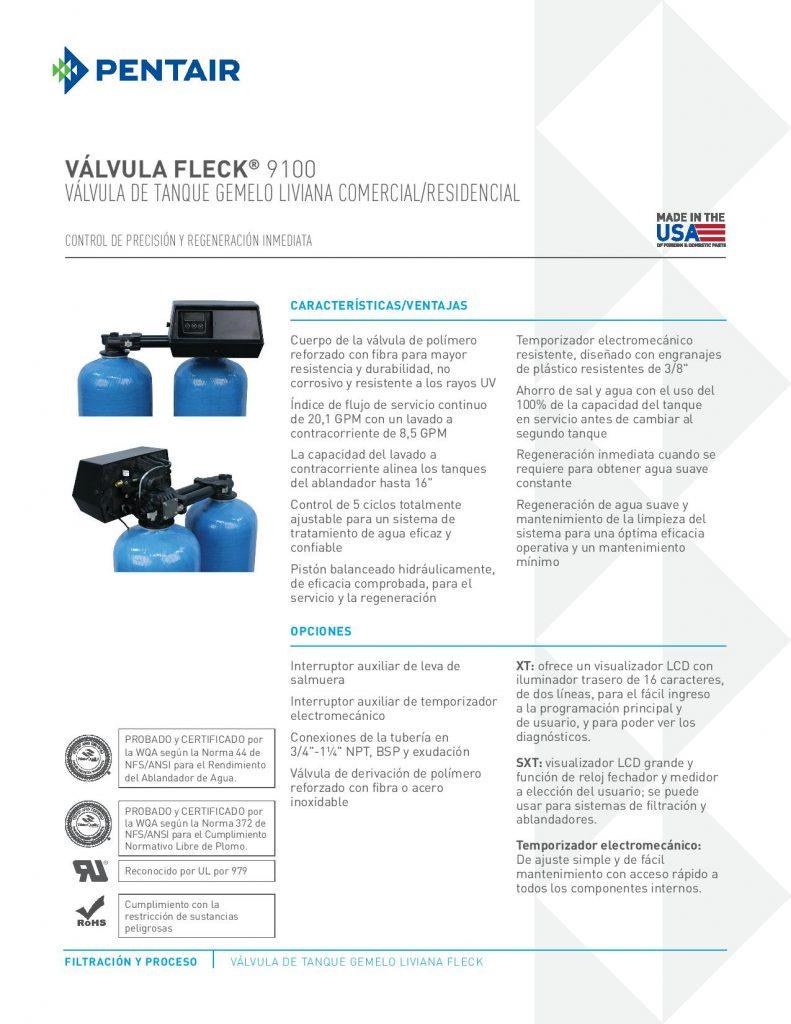 Valvula Fleck 9100