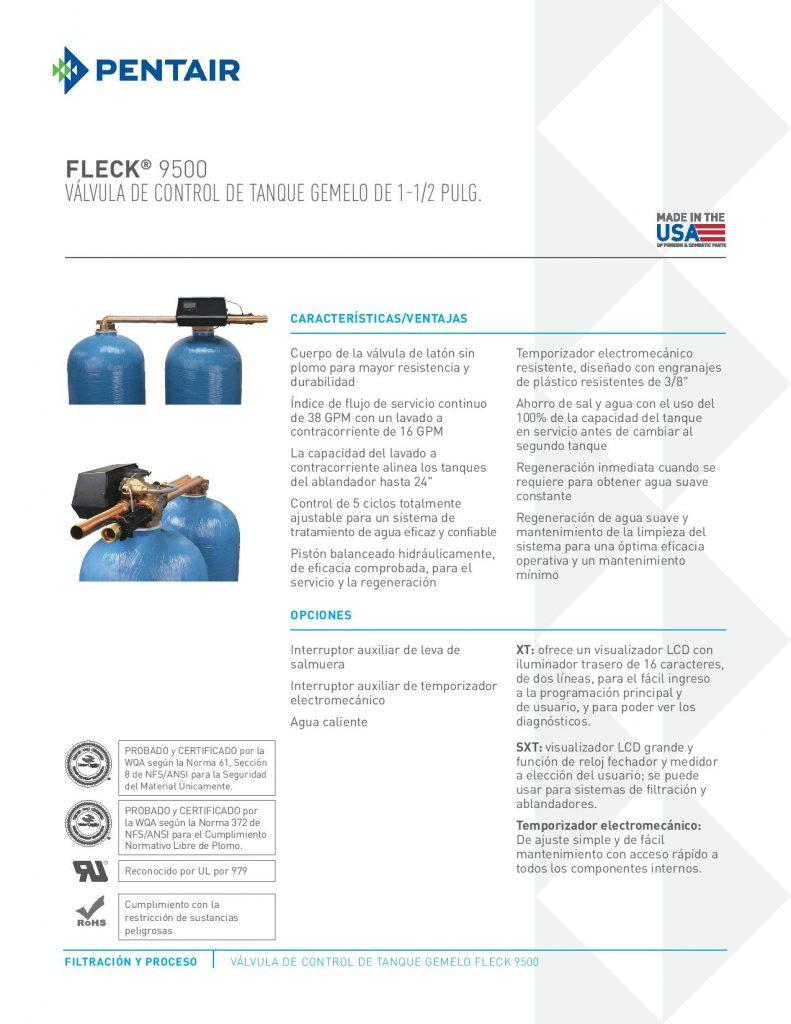 Valvula Fleck 9500