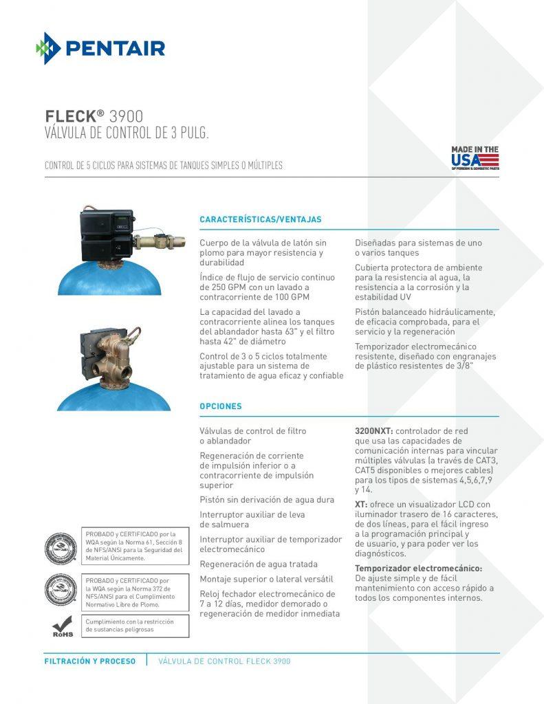 Valvula Fleck 3900