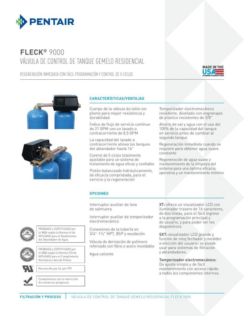 Valvula Fleck 9000