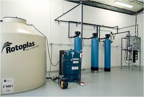 Planta de Purificación para Embotellado de Agua